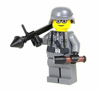 Axis WW2 Single RPG soldier (SKU23) made w/ real LEGO® minifigures