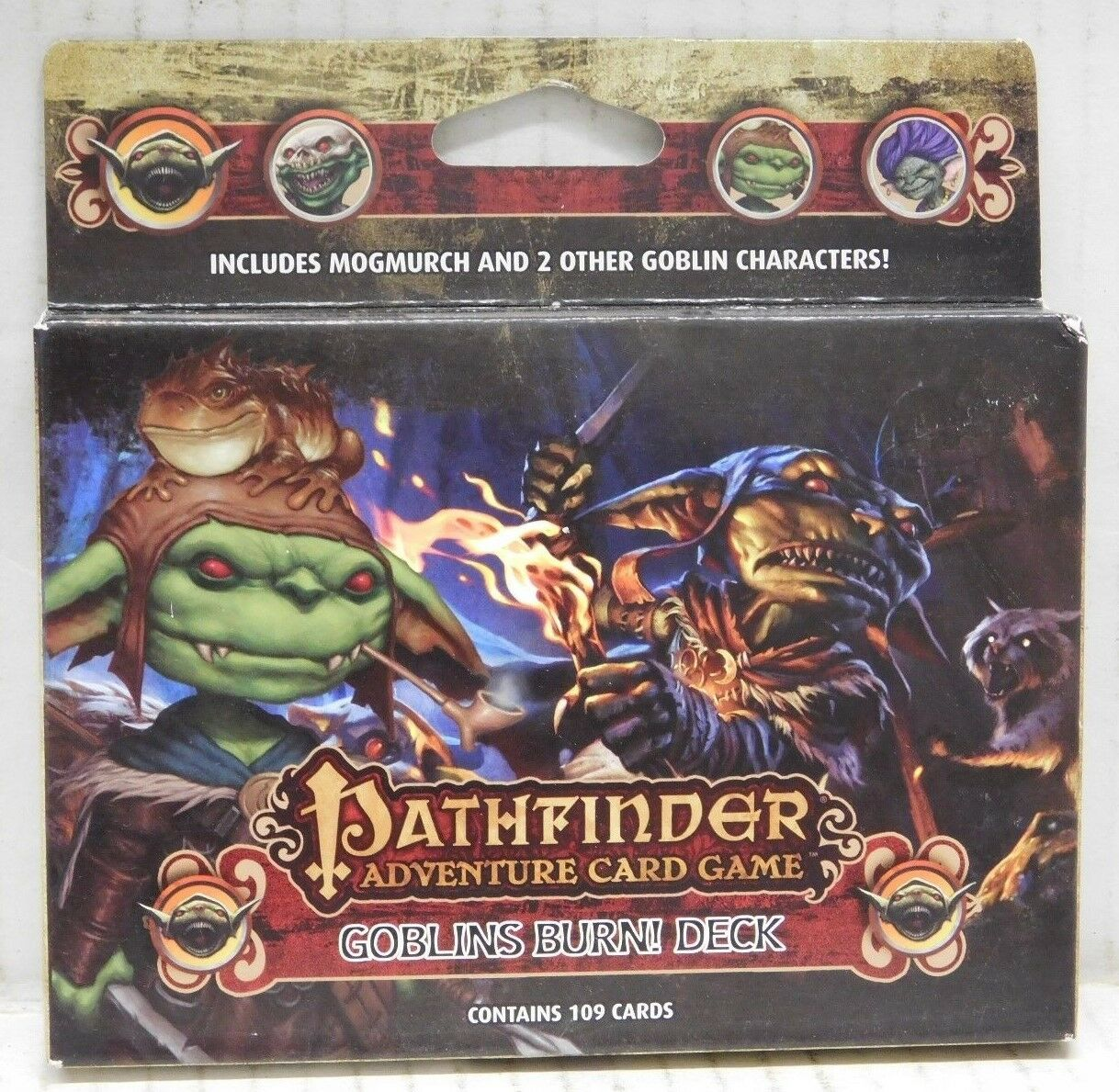 Pathfinder Adventure Card Game: Goblins Burn Game Class Deck Tanis O/'Connor