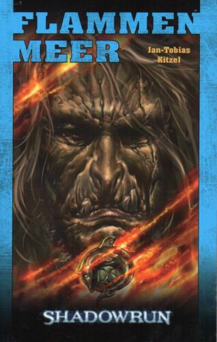 1 von 1 - SHADOWRUN-Bd.81: FLAMMENMEER-Cyberpunk Abenteuer-Roman-neu