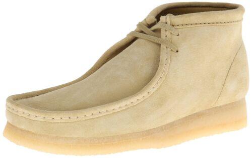 Men/'s Clarks Original Wallabee Boot Maple Suede 26 103811 26133283