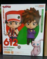 Nendoroid 612 Pokemon Trainer Red & Green + Mew Original Figures Gsc Aus Stock