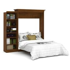 Versatile by Bestar 92'' Queen Wall bed kit in Tuscany Brown