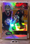 2002 ETOPPS IN HAND RYAN MILLER VANCOUVER CANUCKS BUFFALO SABRES ROOKIE CARD