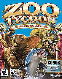 Computer Games - Zoo Tycoon: Complete Collection PC Computer Game by Microsoft Tested