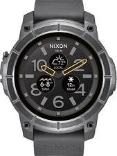 Nixon - The Mission Smartwatch 48mm Polycarbonate - Black
