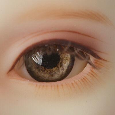 Brown Dollmore BJD New 20mm Half-Round Acrylic Eyes
