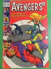 The Avengers #59 1st Appearance of Yellowjacket VG/G Dec 1968 - Marvel Comics