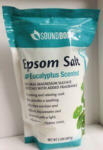 Epsom Salt Eucalyptus Scented 2 Lb Bag