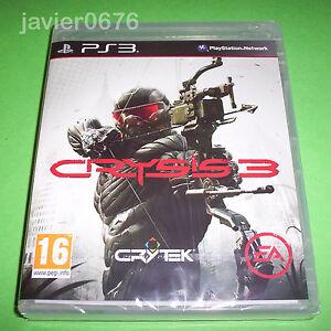 CRYSIS-3-NUEVO-Y-PRECINTADO-PAL-ESPANA-PLAYSTATION-3-PS3