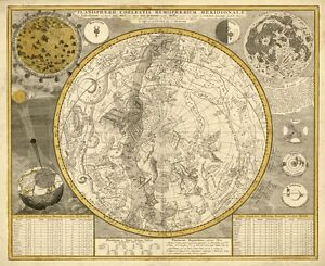 MP67-Vintage-1700-Zodiac-Astronomy-Constellations-Celestial-Map-Poster-A1-A2-A3