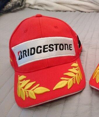 BRIDGESTONE CAP PODIUM HAT CASQUETTE F1 MOTO GP