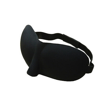 1 pc Sleeping Eye Mask Blindfold Shade Travel Aid Cover Sleep Light Guide New E