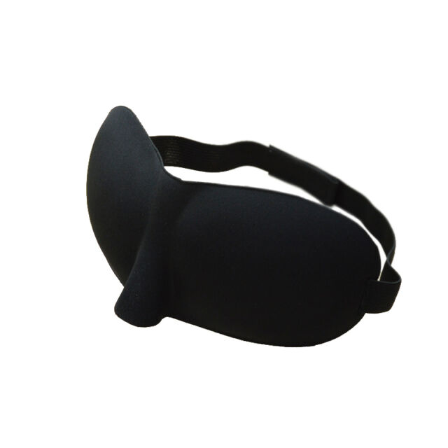 1 pc Sleeping Eye Mask Blindfold Shade Travel Aid Cover Sleep Light Guide New E