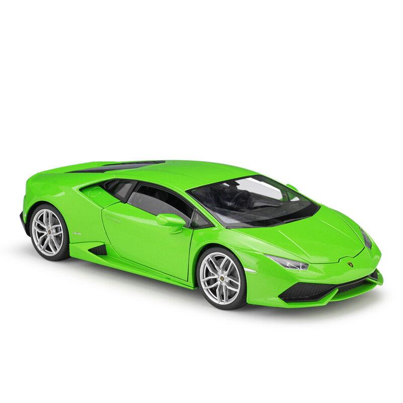 WELLY 1 18 LAMBORGHINI HURACAN  LP610-4 Diecast Metal Voiture Modèle vert  pour la vente en gros