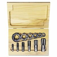 Irwin Hanson Tap & Die Set, Steel, 12 Pieces - Hns1920 on Sale
