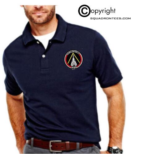 USAF 528th Bomb Squadron FB-111 Embroidered Polo Shirt
