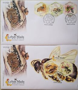 Malaysia FDC with MS & Stamps (09.04.2019) - Honey Bees in Malaysia