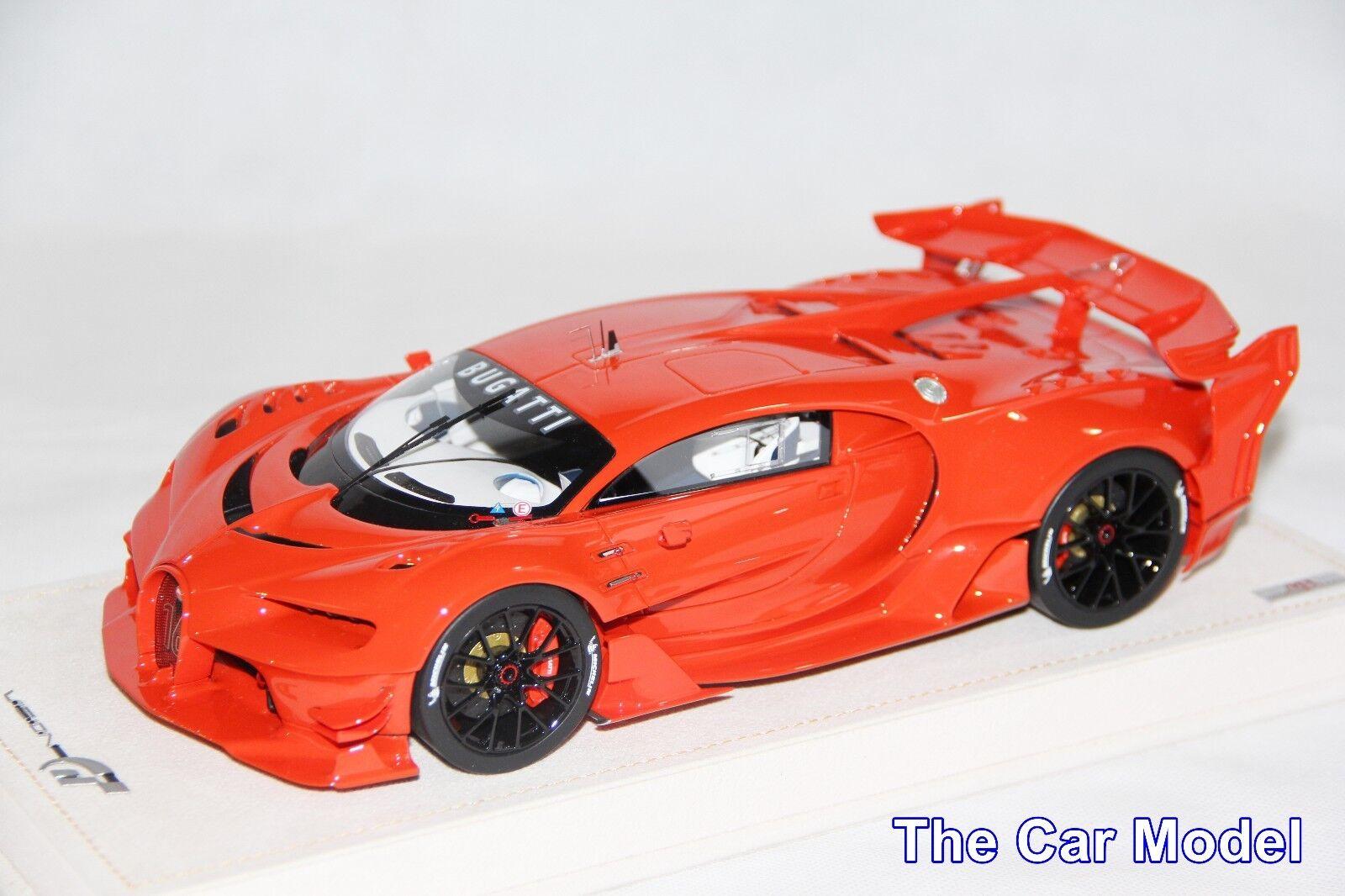 Bugatti Vision Gt Gran Turismo Rouge rouge Dino - Limité 30 Pcs Mr 1 18