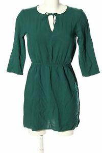 h&m divided minikleid grün casual-look damen gr. de 34