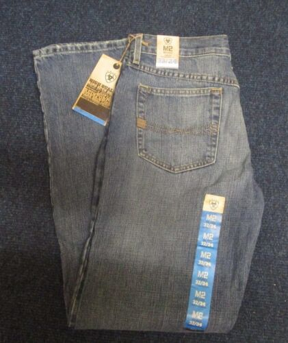 Ariat Men/'s M2 Relaxed Low Rise Boot Cut Denim Jeans 10008398