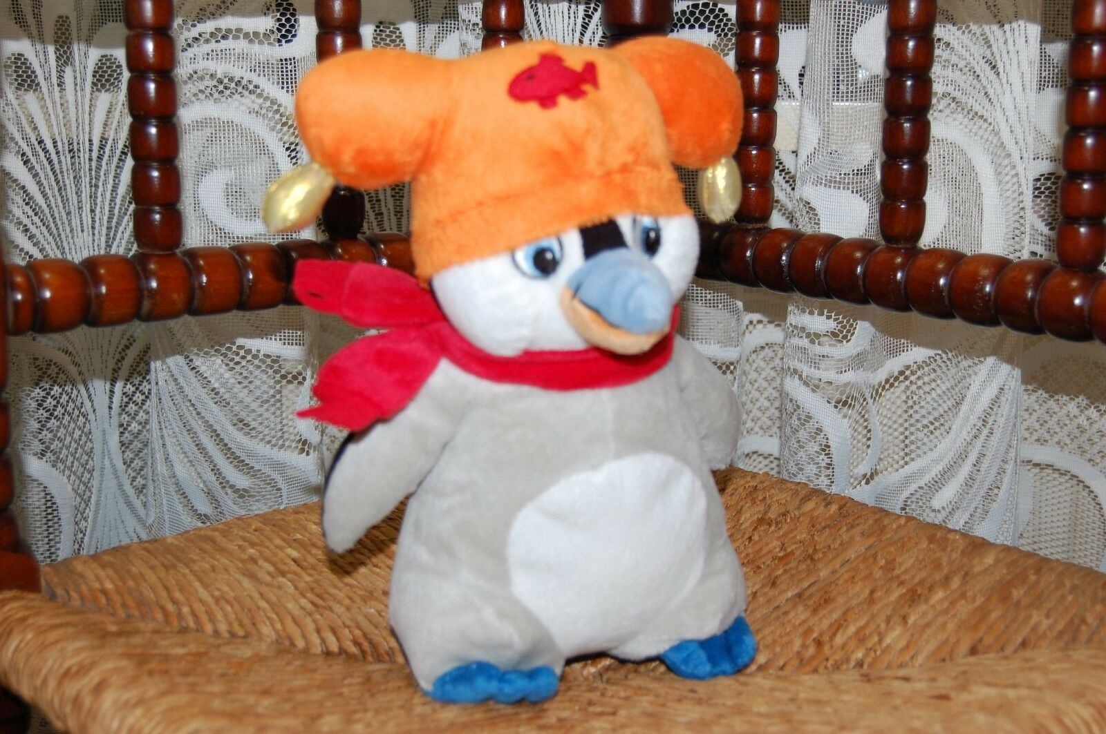 Famous Studio 100 Pleppopis Rosai Pinguin From Plop The Gnome Penguin Plush New
