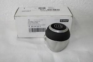 Genuine-Smart-Fortwo-451-Silver-Brabus-Gear-Selector-Shift-Knob-A4512670011