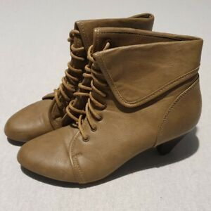 NEW CHLOE Beige Quilted Leather Ankle Boots (Size 38