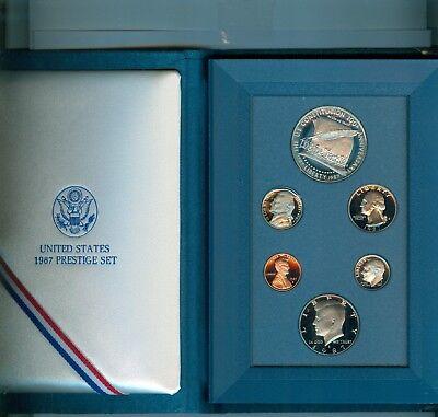 1987 Prestige Set Original US Mint Packaging Ships for Free!
