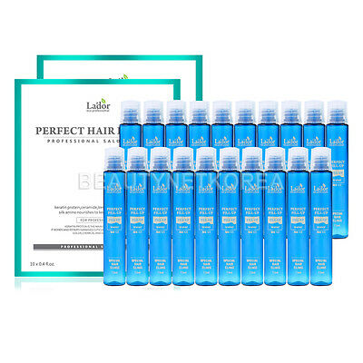 [LADOR] Perfect Hair Fill-Up 13ml * 20pcs / Protein Hair Ampoule