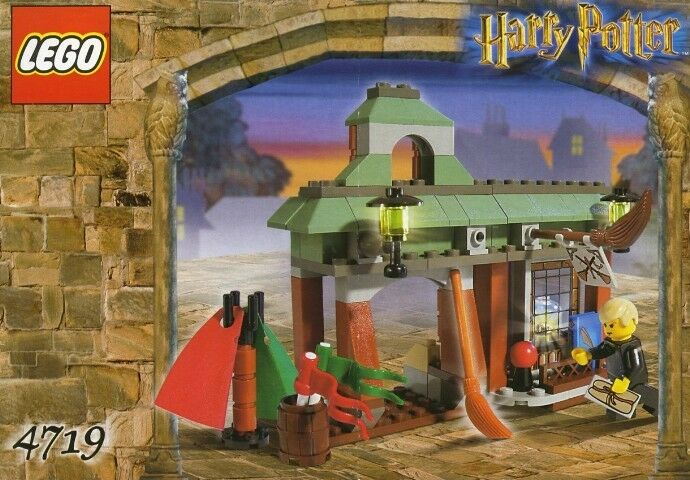 NEW Lego Harry Potter  4719 Quality Quidditch Supplies Sealed