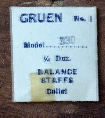 GRUEN BALANCE STAFFS CHOOSE From MODEL NUMBERS NOS