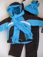 Girls 4 5/6 6x Rothschild 4-piece Snowsuit Ski Outfit $120 Retail Value
