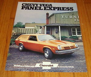 Details About Original 1974 Chevrolet Vega Panel Express Sales Brochure Chevy