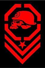 Metal Mulisha RED Decal Sticker Moto-X Dirt Bike Motocross Off Road ATV Army
