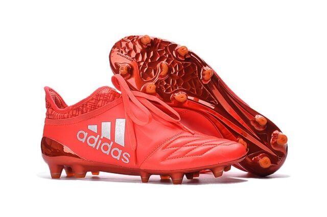 3abb8f4a1 Adidas X 16+ Purechaos FG Leather Soccer Cleats Limited Edition AQ3620  Box+Bag