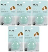 5 Pack Eos Smooth Sphere Evolution Lip Balm Sweet Mint Flavor .25oz