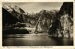 CPA-AK-Der-Konigsee-mit-Falkensteinwand-GERMANY-879259