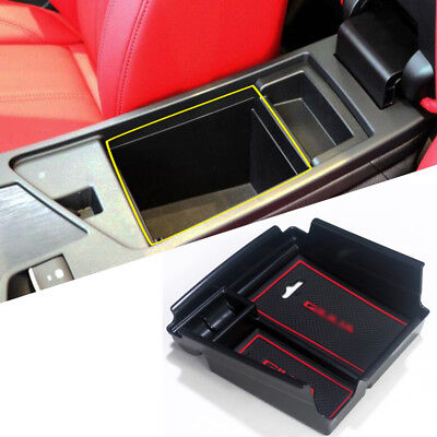 Interior Middle Armrest Storage organizer Box for  Alfa Romeo Giulia 2017-2019