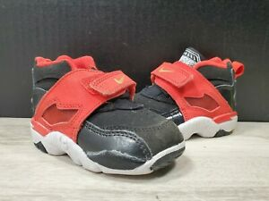 Nike-Diamond-Turf-TD-Toddler-Baby-Shoes-407913-800-Red-Black-sz-4C-PRE-OWNED