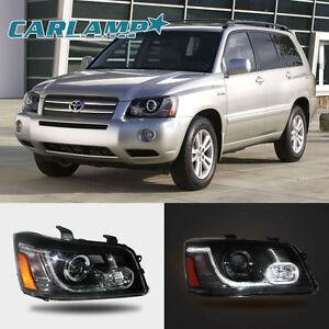 LED Land Rover Style Headlights For Toyota Highlander - 2001 highlander