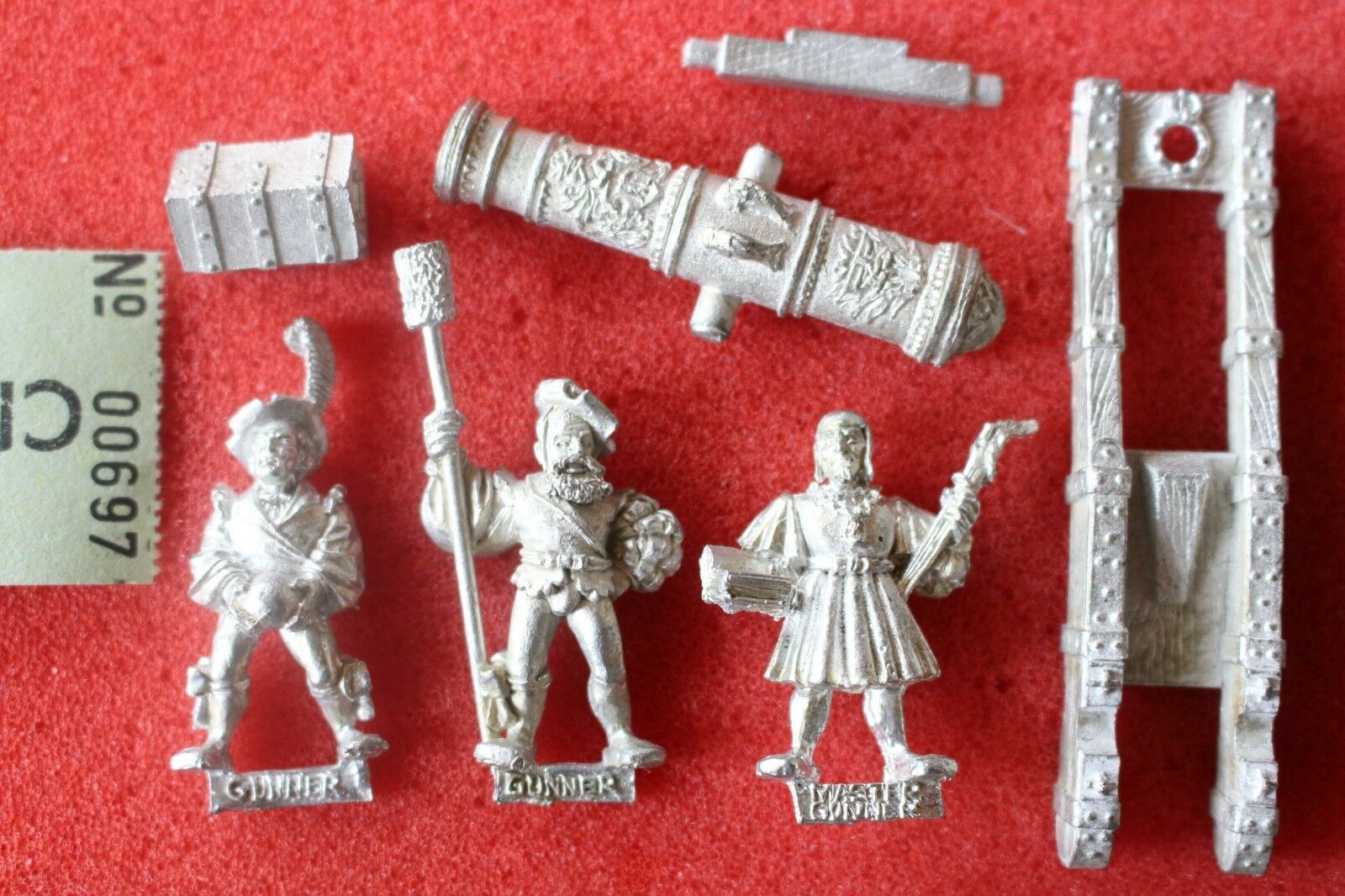 Games Workshop Warhammer Fantasy Empire Great Cannon with Crew Metal Figures GW