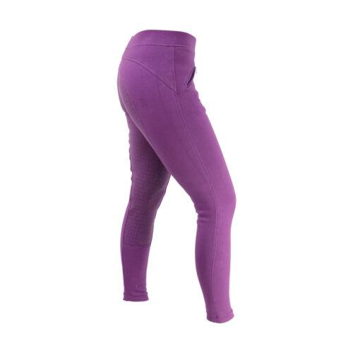 "Hy Performance Femmes Hickstead Silicon Full Siège Grip équitation legging 24-34/"""