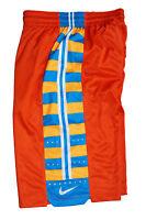 Nike Elite Stay Cool Breathable Basketball Shorts Orange M