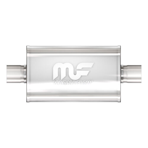 "Magnaflow 12279 Performance Muffler 3/"" Center//Center 5x8x24 Oval Satin Stainless"