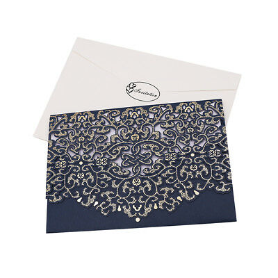 10 Sets Wedding Party Lace Flower Invitations Card Invitation Greeting Cards Ebay
