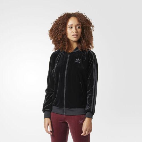 Giacca Taglia W Novit�� Adidas Nero Originals Premium Velluto 6 747 10 8 Uk wTBxT