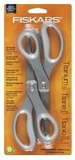 Fiskars 8 Inch Everyday Titanium Scissors, 2 pack, New, Free Shipping