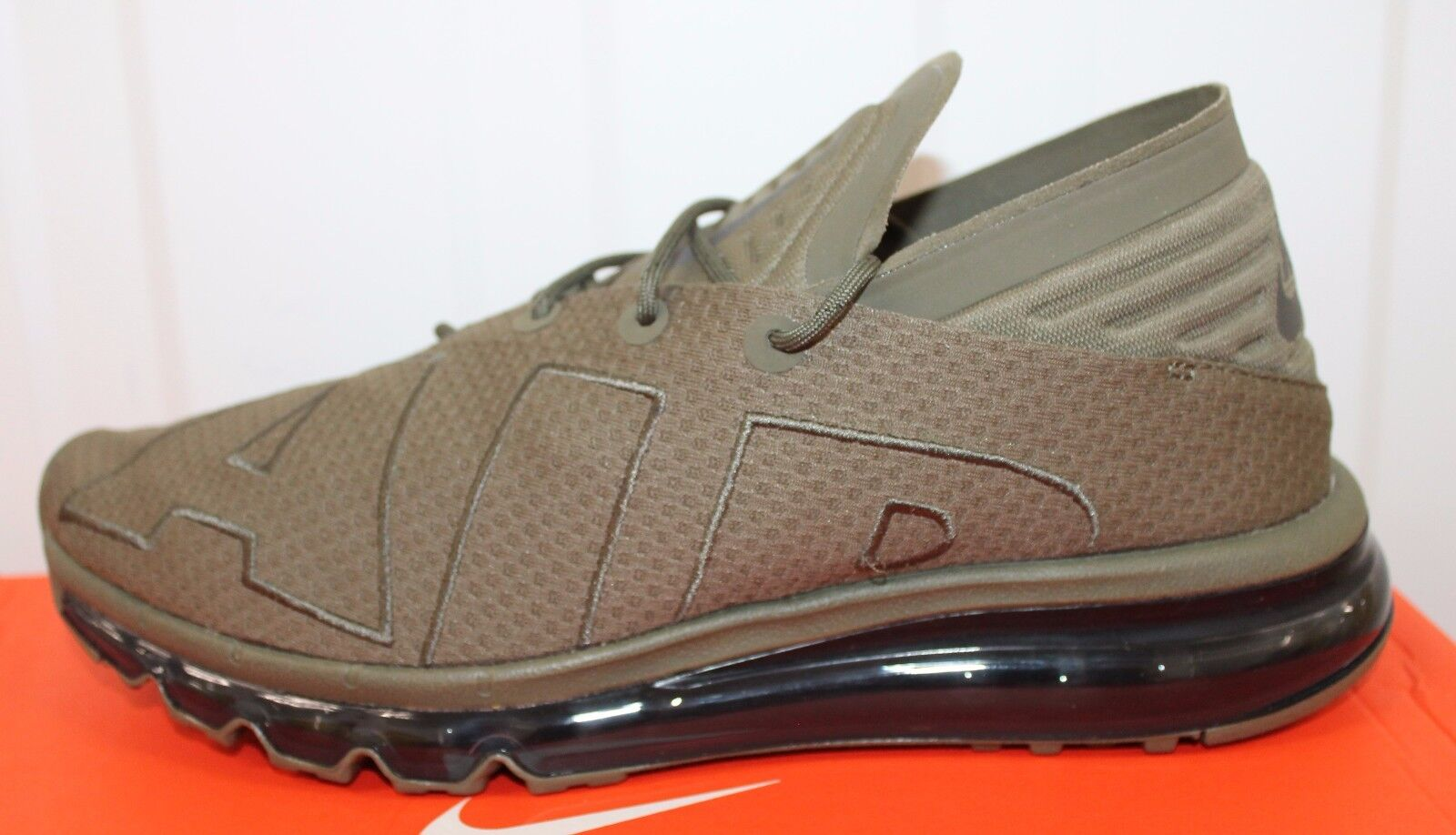 NIKE AIR MAX FLAIR MED OLIVE-SEQUOIA  MEN,S 942236-200 BNIB   OLIVE-SEQUOIA    50 604464
