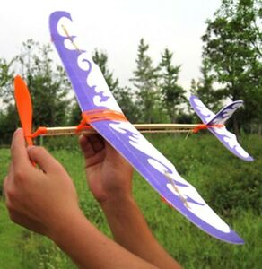 Fd1924 Practical Diy Airplane Aircraft Model Powered By