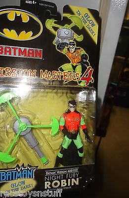 Batman Mission Masters Night Fury Robin mint on card